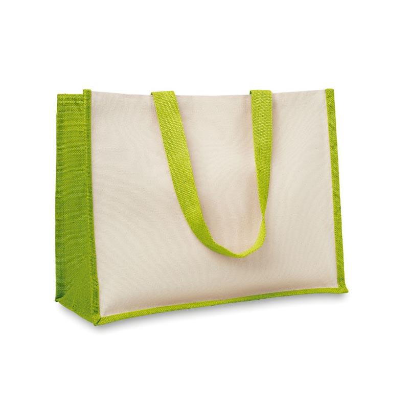Goodies écologique - Sac shopping en jute et toile Campo