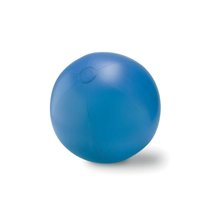 Objet publicitaire - Ballon plage gonflable en PVC Play - rouge