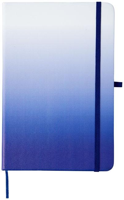 Carnet publicitaire Gradient bleu