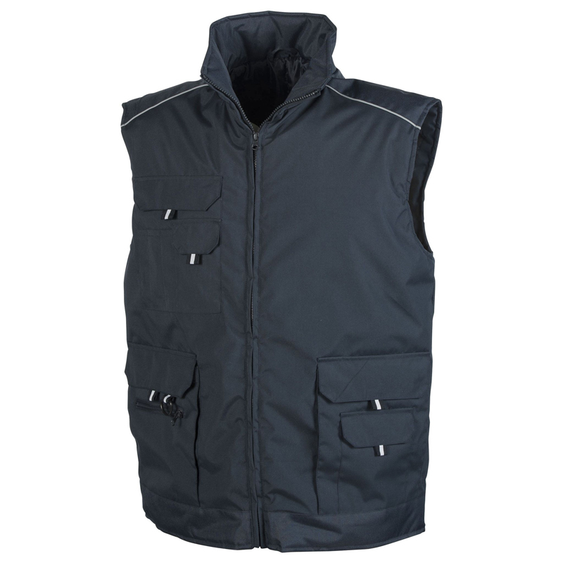 Bodywarmer promotionnel Pen Duick® Crafty bleu navy - bodywarmer publicitaire