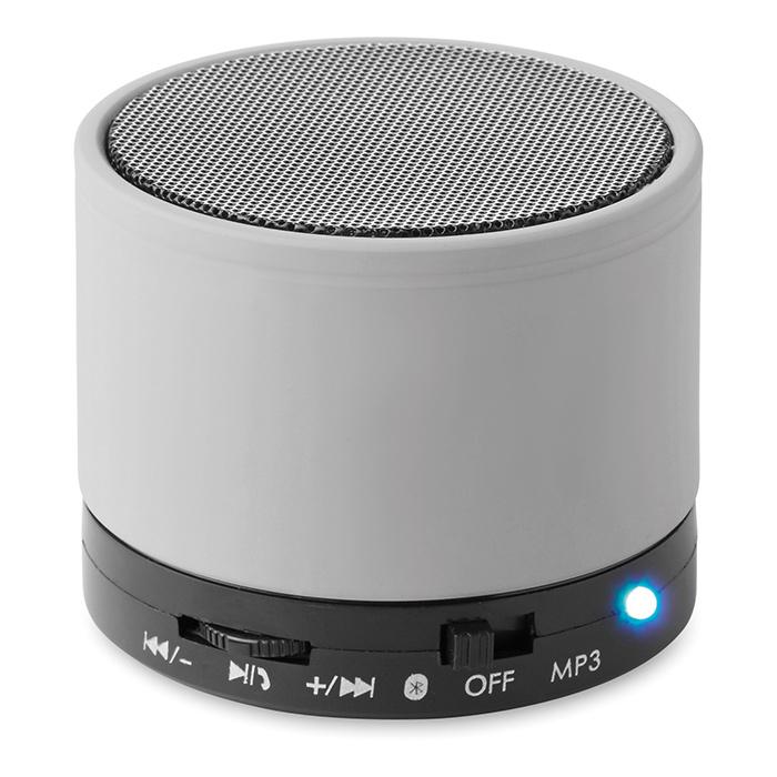 Enceinte publicitaire Bluetooth Roundbass - Cadeau personnalisable high-tech