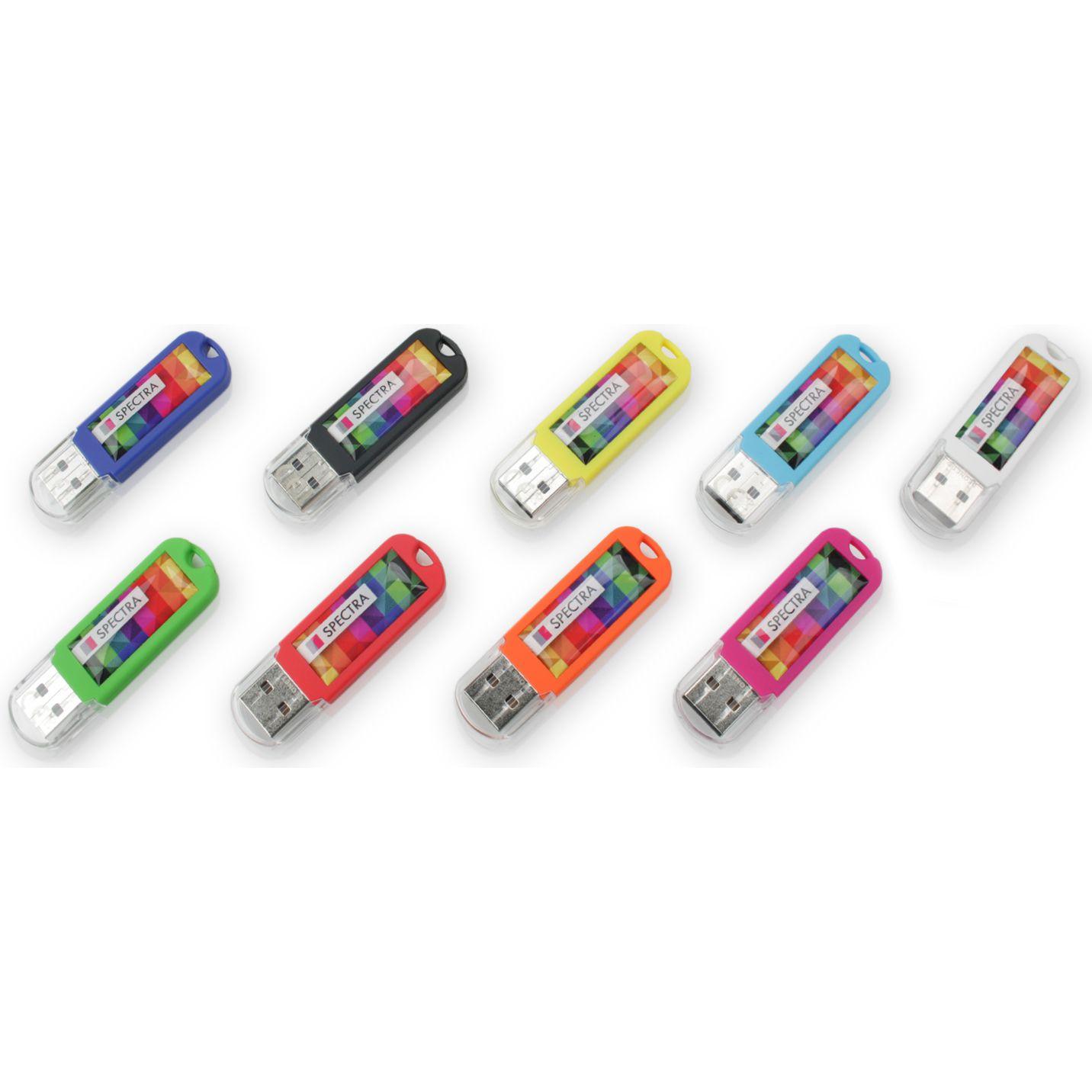 Clé USB publicitaire Spectra 3.0 - clé USB personnalisable