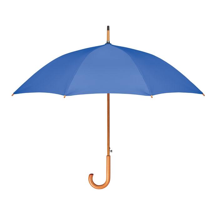 parapluie personnalisable écolo avec manche bois et toile recyclée Cumuli