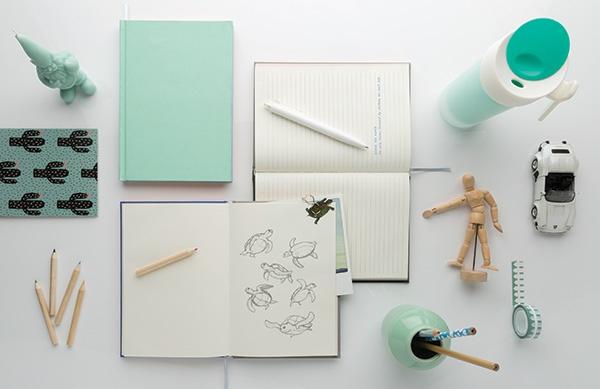 Carnet de notes A5 publicitaire 2 en 1 My Little Story - Cadeau publicitaire