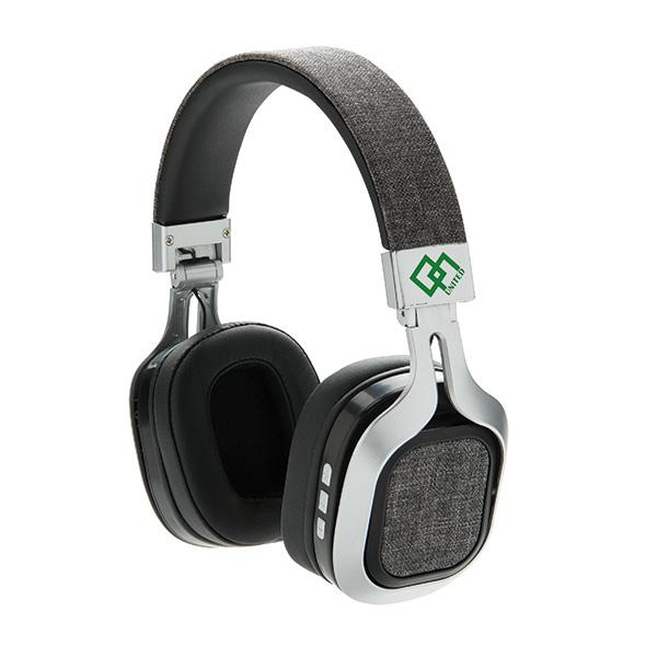 Casque audio publicitaire Bluetooth pliable Vogue - Cadeau d'entreprise
