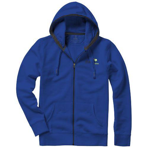 Veste à capuche bleu marine