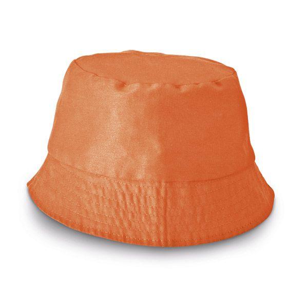 Chapeau publicitaire - Bob personnalisé Chapi - jaune