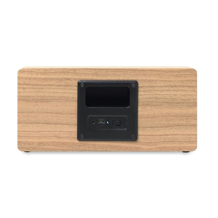 Haut-parleur publicitaire Bluetooth 2x3W Sonictwo - Cadeau publicitaire