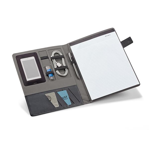 Conférencier personnalisable A4 Grey - cadeau d'entreprise