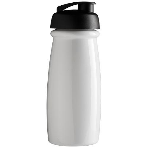 Goodies sport - Bouteille de sport publicitaire H2O Pulse® 600 ml - blanc
