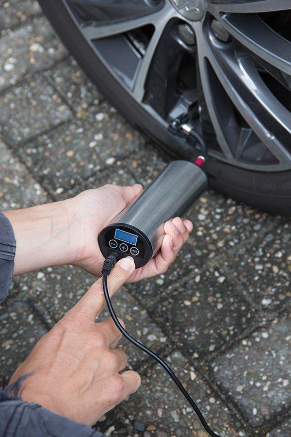 Accessoire publicitaire pour voiture - Pompe électrique personnalisable pour pneu Shadok