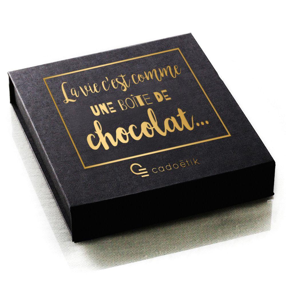 Boîte de chocolat publicitaire | Cadeaux d'affaires pour Noël