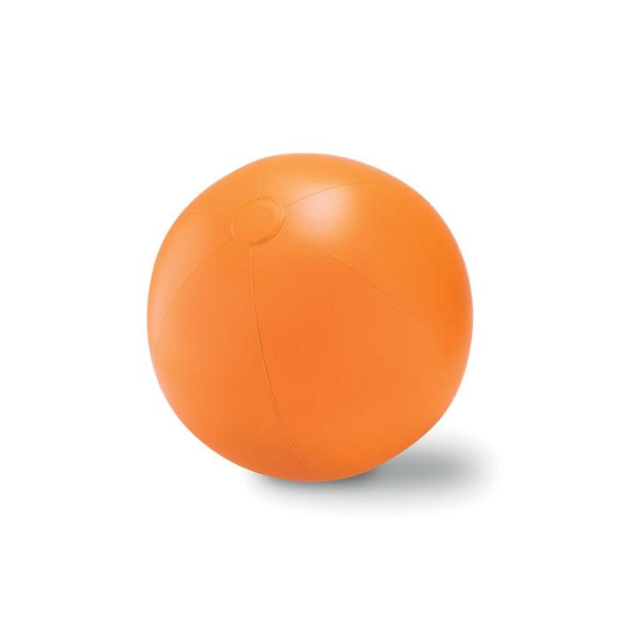 Objet publicitaire - Ballon plage gonflable en PVC Play - bleu