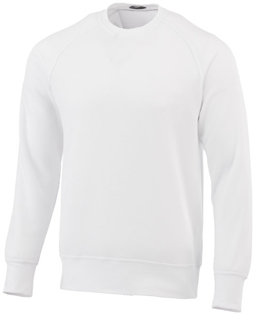 Sweater publicitaire Kruger blanc