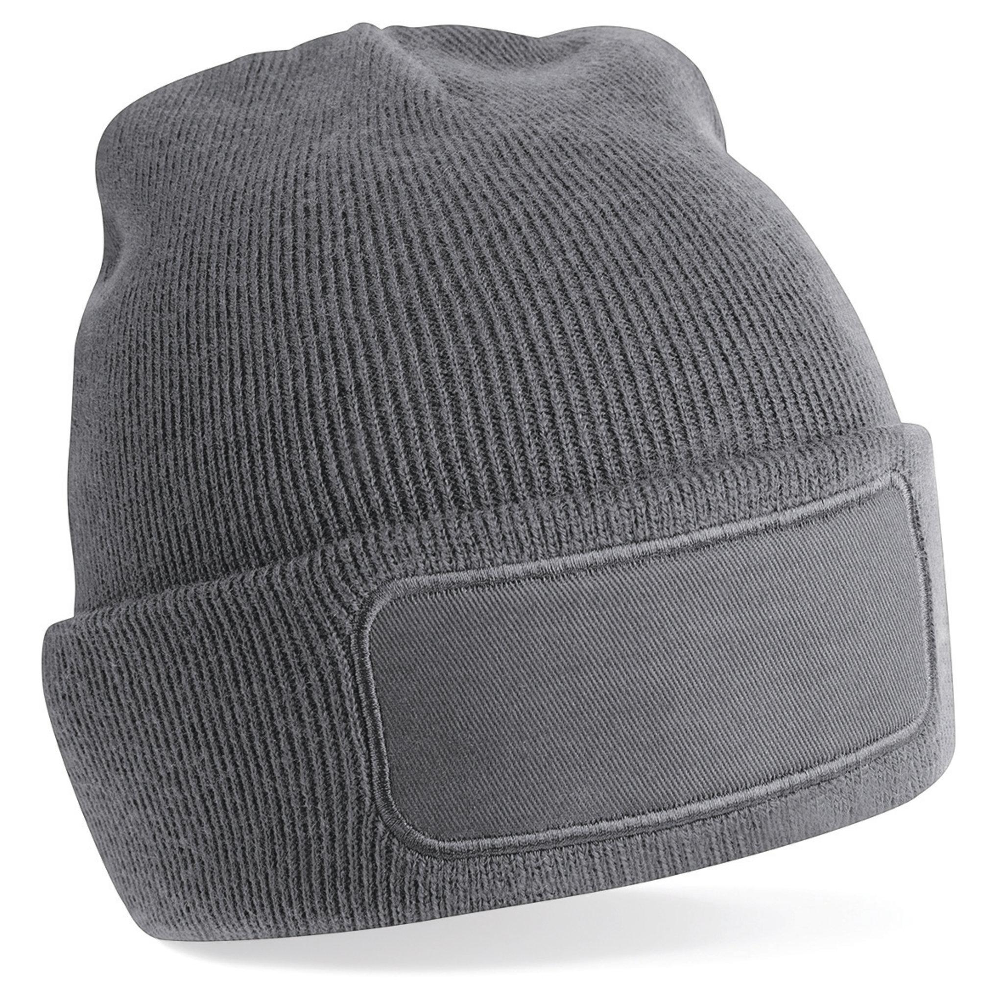 Bonnet personnalisable Beanie - bonnet publicitaire noir