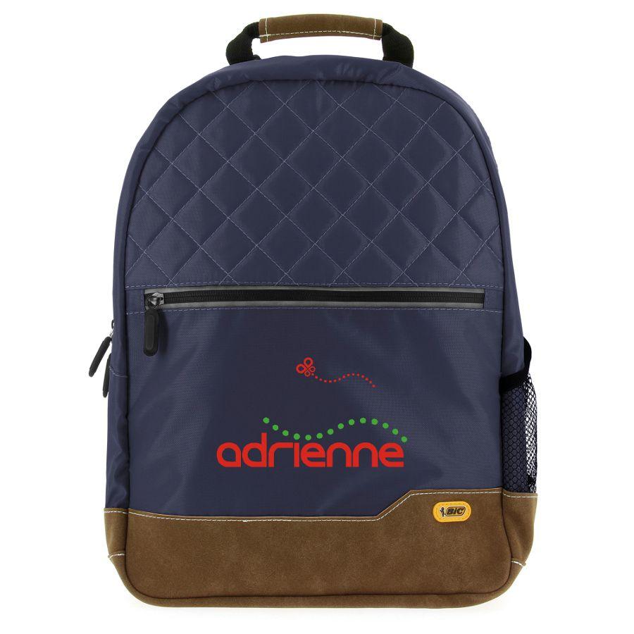 Sac à dos publicitaire Bic® Classic Backpack SP vert - cadeau publicitaire