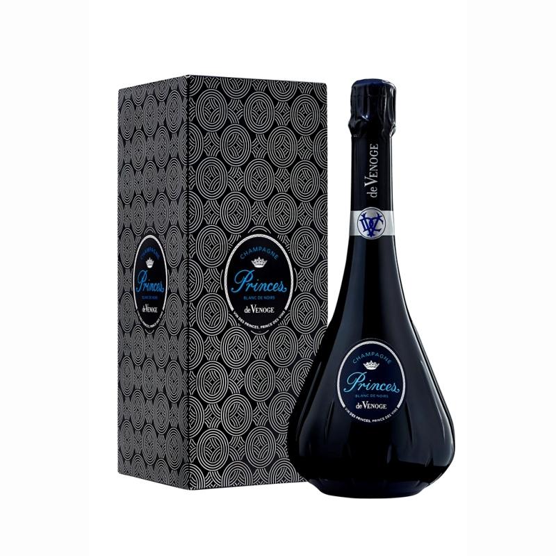 Champagne Prince Blanc de Noirs sous étui - Cadeau d'affaires