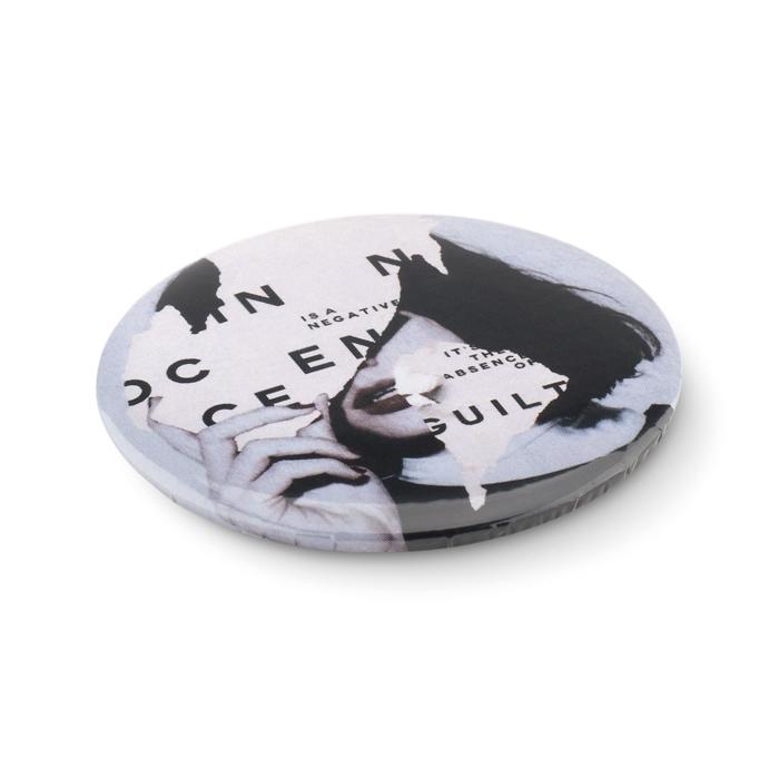 Goodies-Gadget - Badge personnalisé miroir Mirror