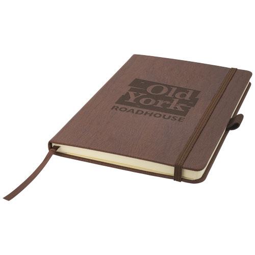 Carnet personnalisable A5 Journalbooks® Ebéniste noir - carnet personnalisable