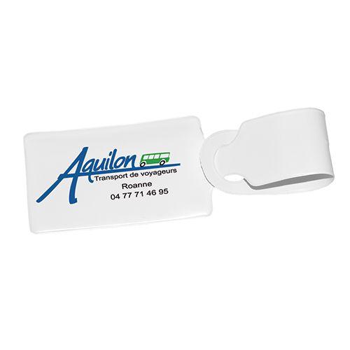 Etiquette à bagage publicitaire PVC Fly - goodies voyage