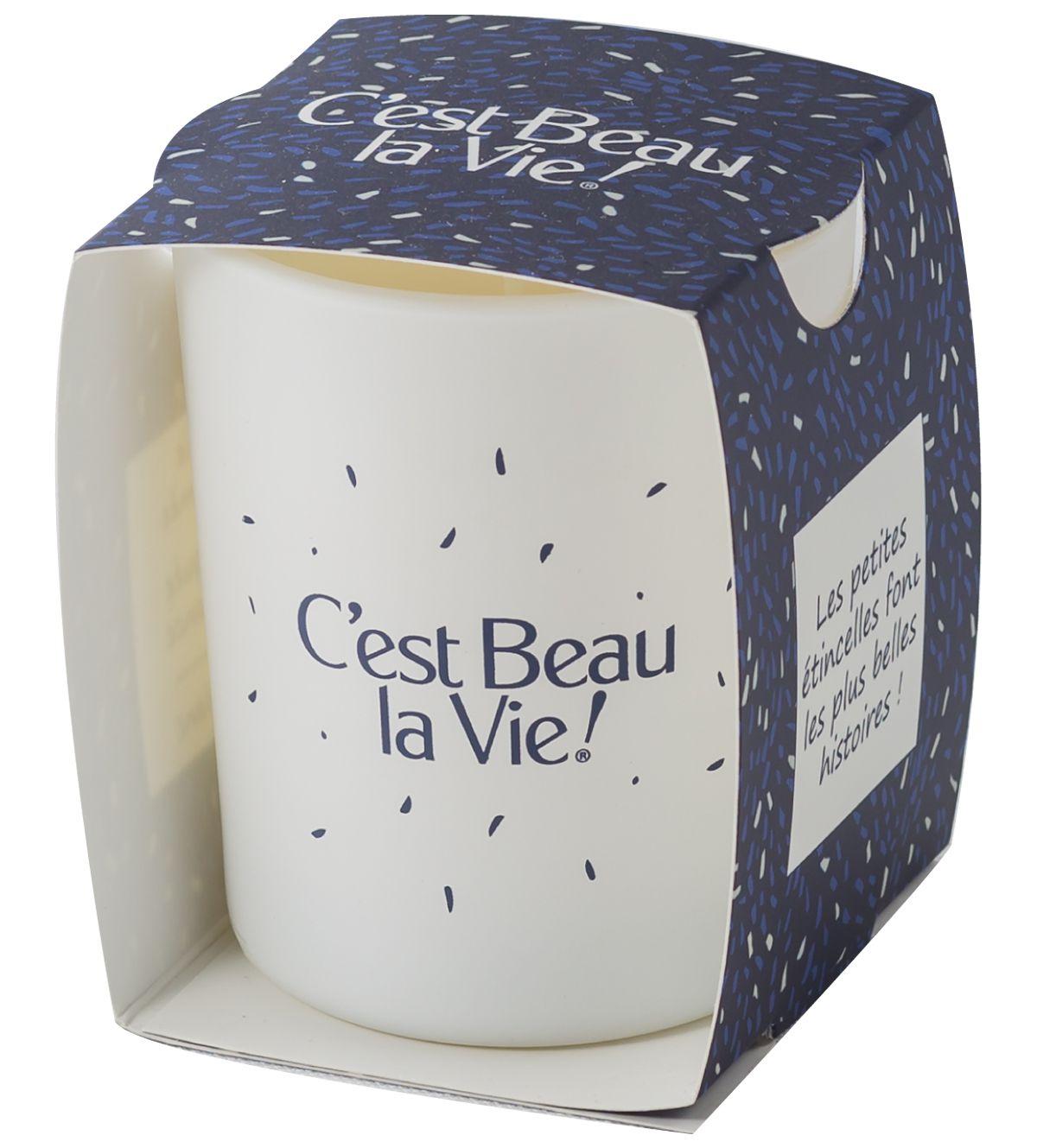 Bougie parfumée personnalisable Woogie - Cadeau de fin d'année