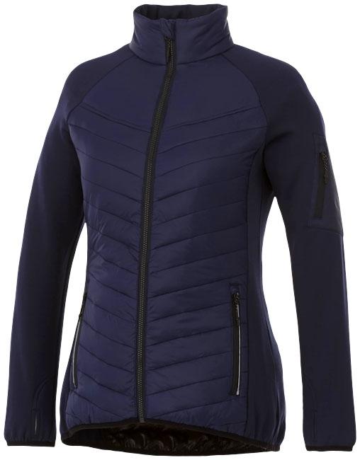 Objet promotionnel textile - Doudoune personnalisée Hybride Banff Femme