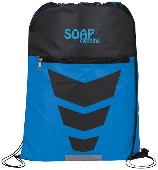 Gym bag publicitaire Courtside - bleu