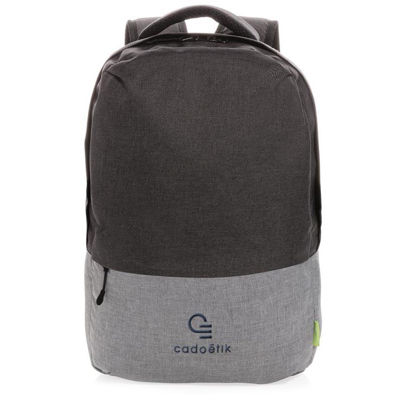 sac à dos publicitaire pour ordinateur Duo Color - goodies écologiques