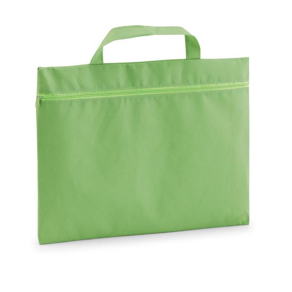 Porte-documents promotionnel écologique Slimy vert - objet publicitaire écologique