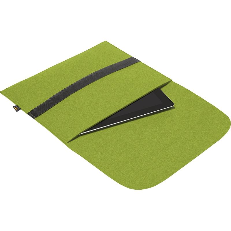 Porte-documents publicitaire pour tablettes vert clair