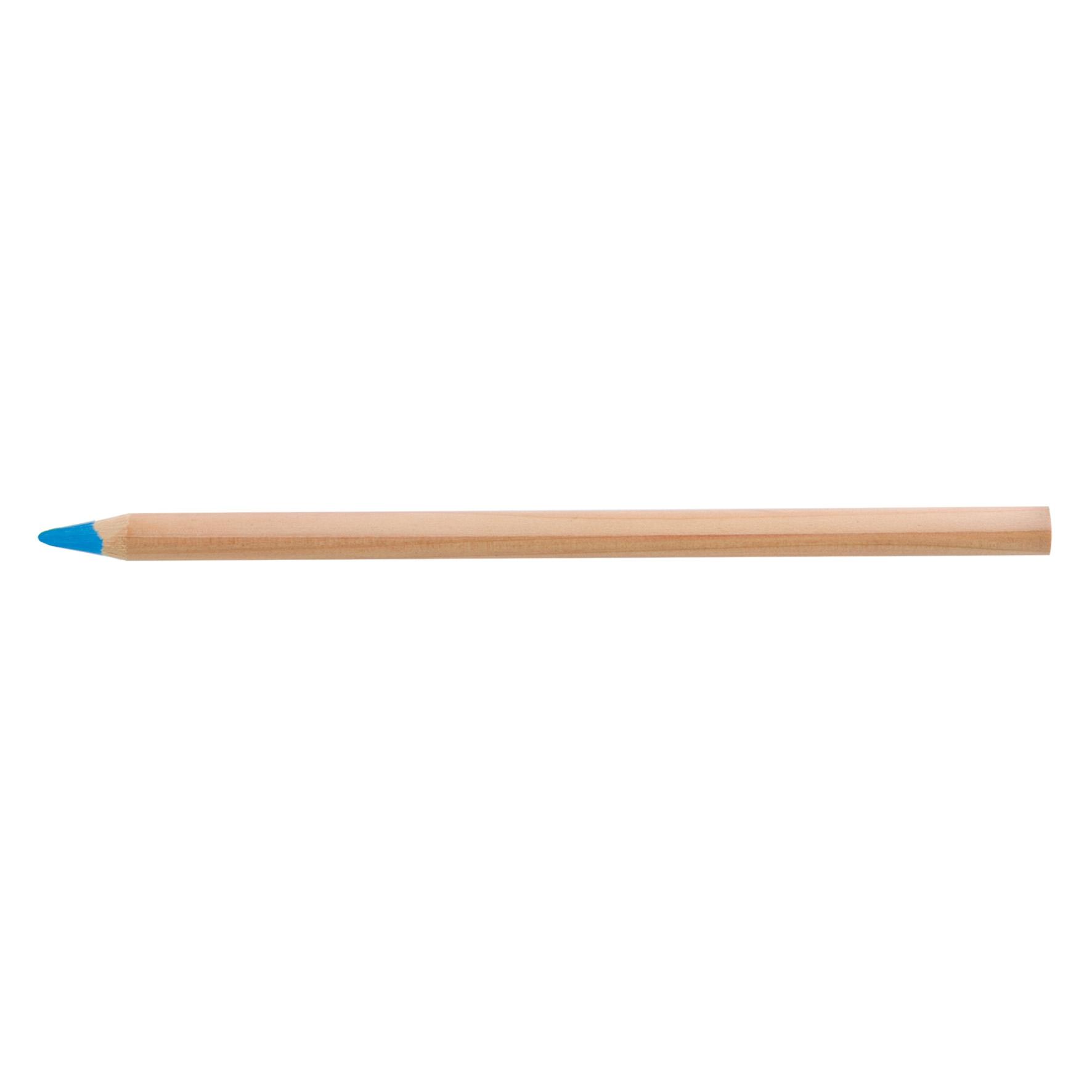 crayon papier mine fluo à personnaliser naturel Indiv 17,5 - goodies écoresponsable