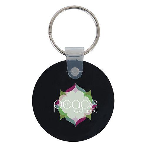 Porte clé publicitaire rond - porte clef original