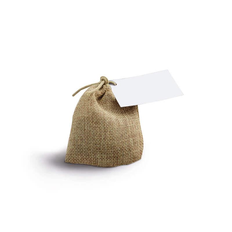 Sachet d'épices en toile de jute - Goodies de Noël