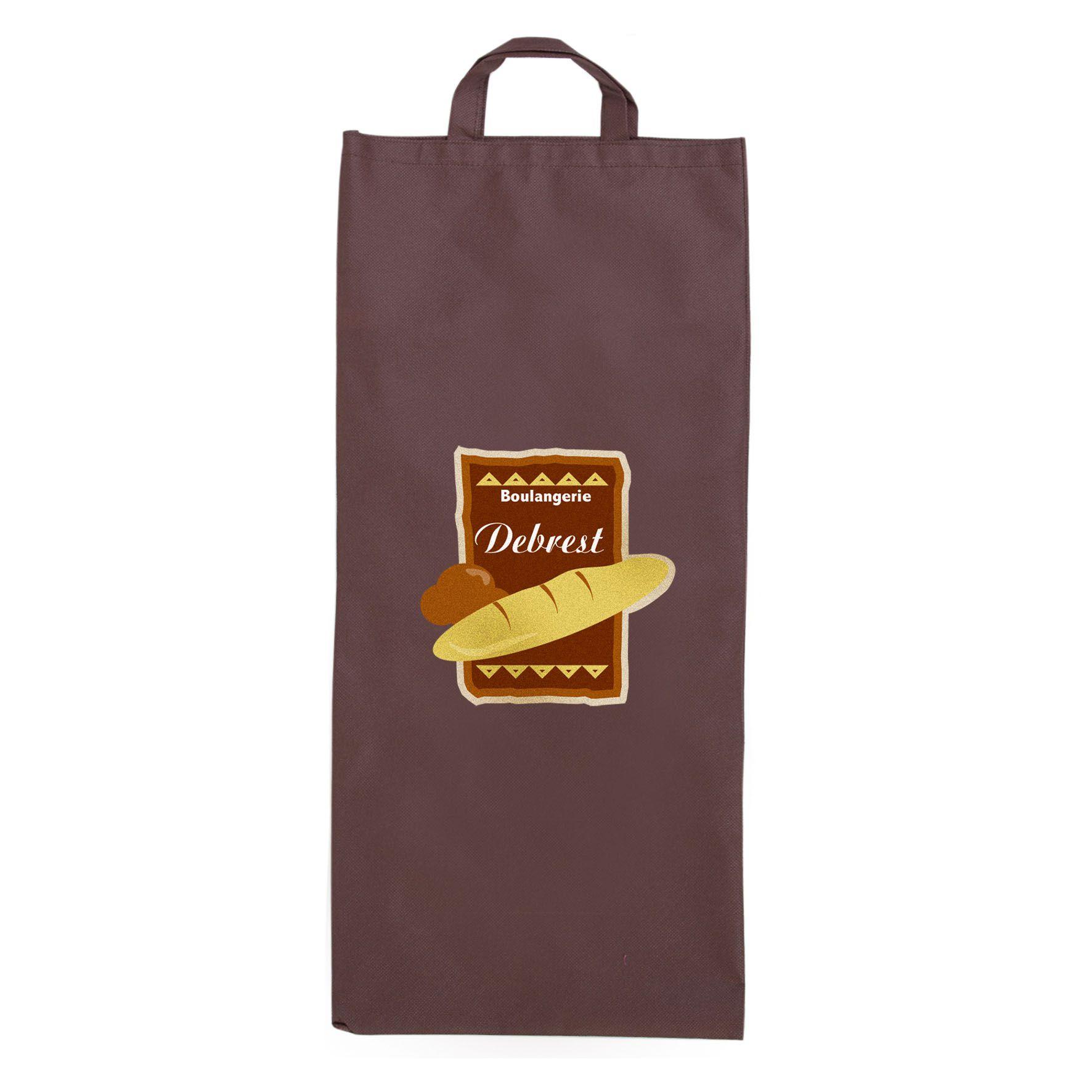 Sac à pain publicitaire non tissé Miette - Cadeau publicitaire
