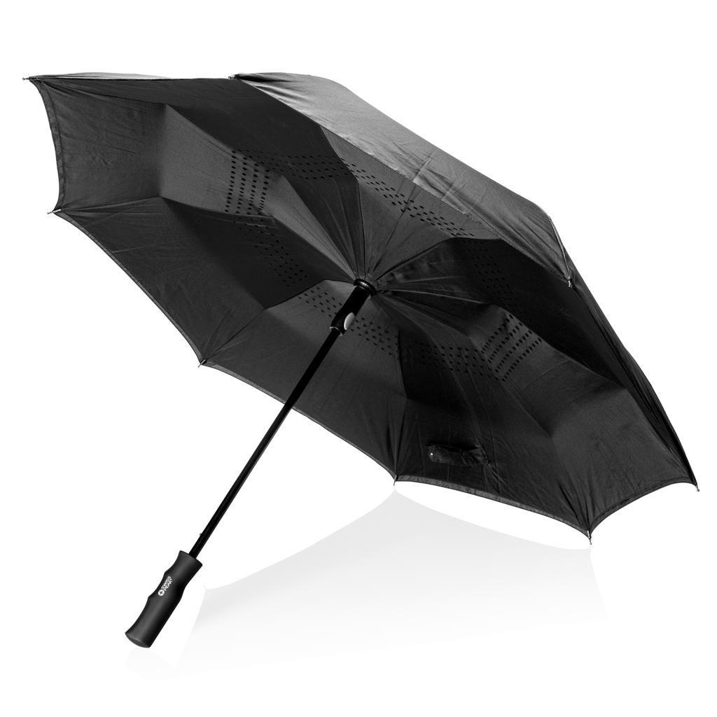 Parapluie publicitaire réversible Swiss Peak 23 pouces Tomé