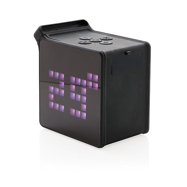 Haut-parleur publicitaire 5 W avec application PixArt - Cadeau publicitaire