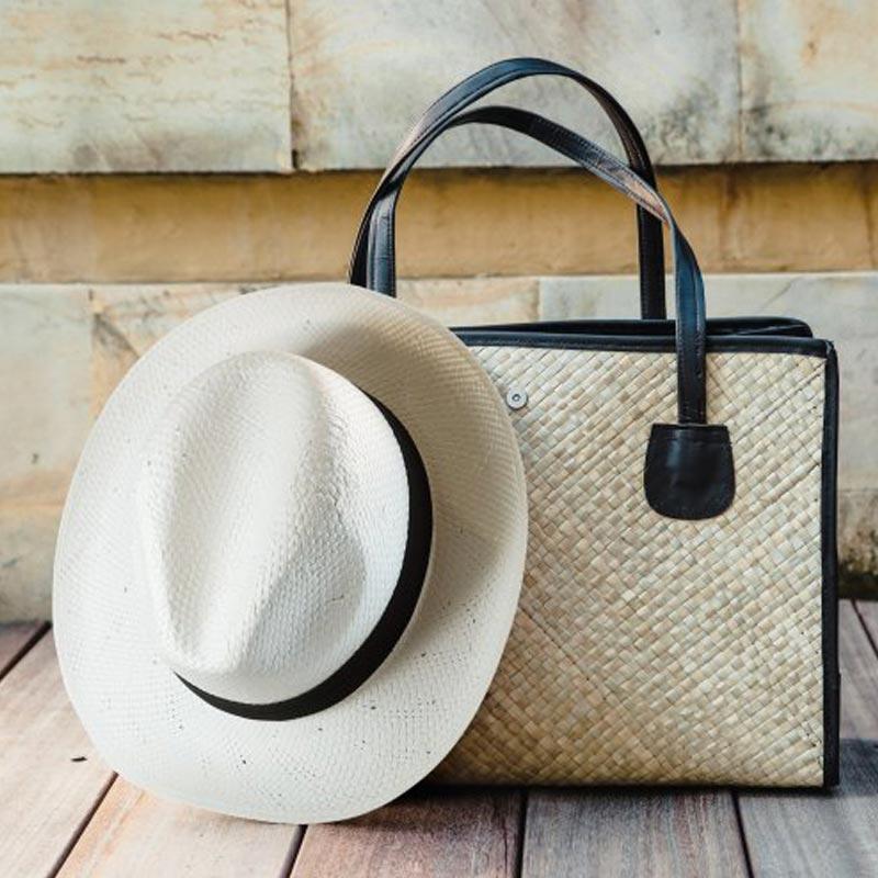 Goodies - Chapeau PANAMA mis en situation