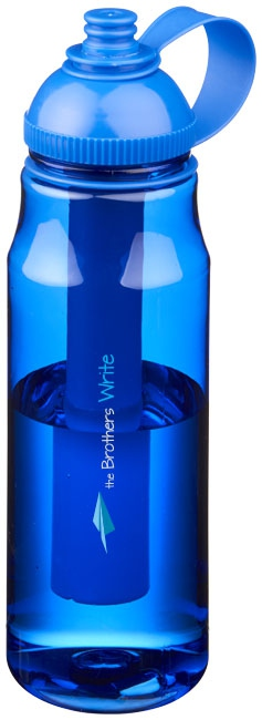 Bouteille isotherme publicitaire - Gourde publicitaire réfrigérante Artic - bleu