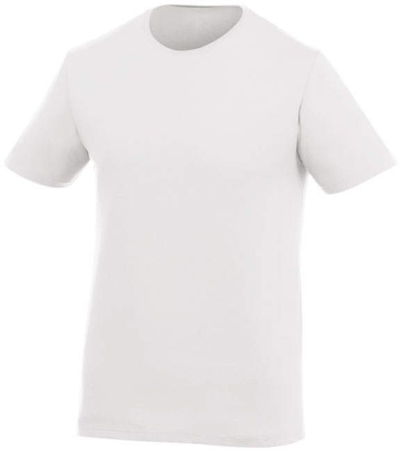 T-shirt publicitaire manches courtes Finney - Tee-shirt promotionnel - blanc