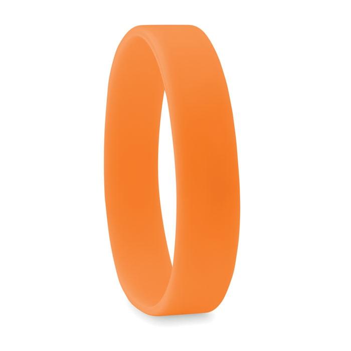 Goodies - Bracelet publicitaire en silicone Event orange