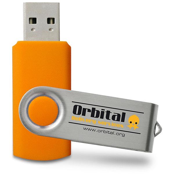 Clé USB publicitaire Swivel - Cadeau publicitaire