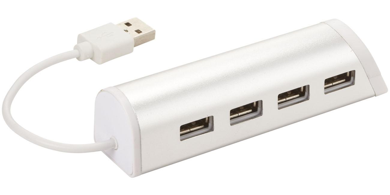 Support téléphone publicitaire et hub 4 ports Standup - Cadeau d'entreprise