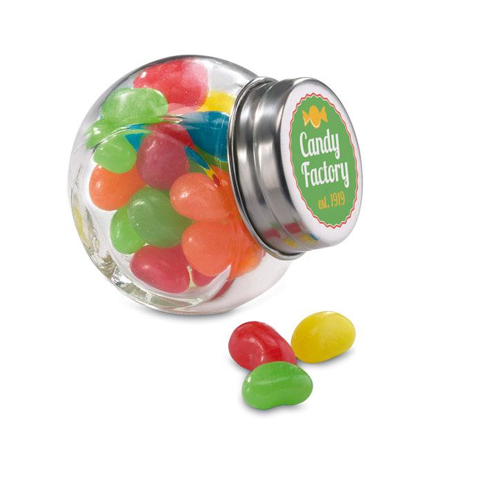Boite de bonbons publicitaire muliticolores - goodies entreprise
