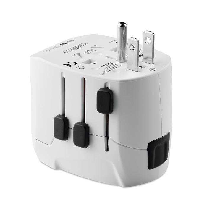 Cadeau d'entreprise - Adaptateur publicitaire Pro Light USB 3-Pole