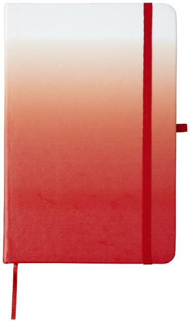 Carnet publicitaire Gradient rouge