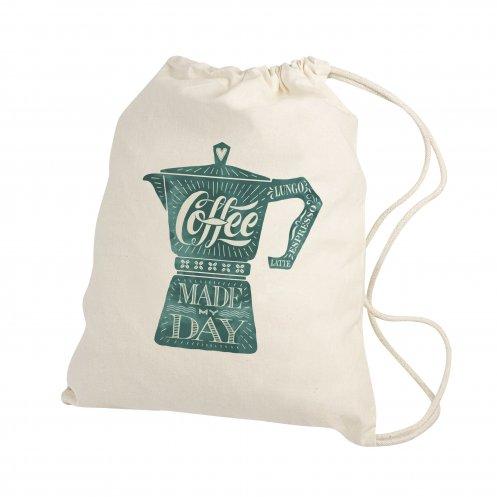 Gymbag publicitaire écologique en coton Gymi - Gymbag personnalisable