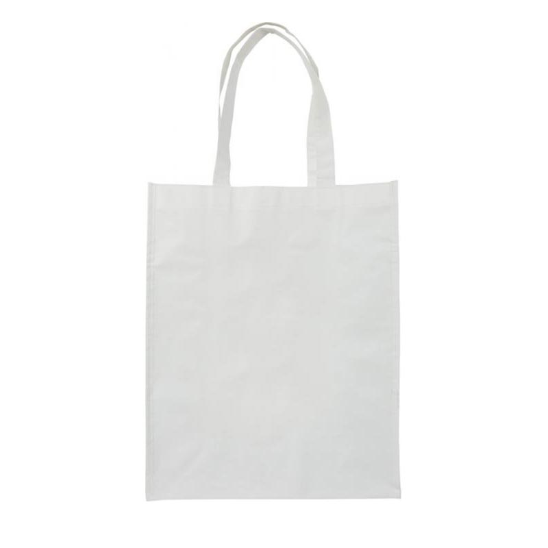 Sac cabas promotionnel - Sac shopping laminé taille moyenne Deen