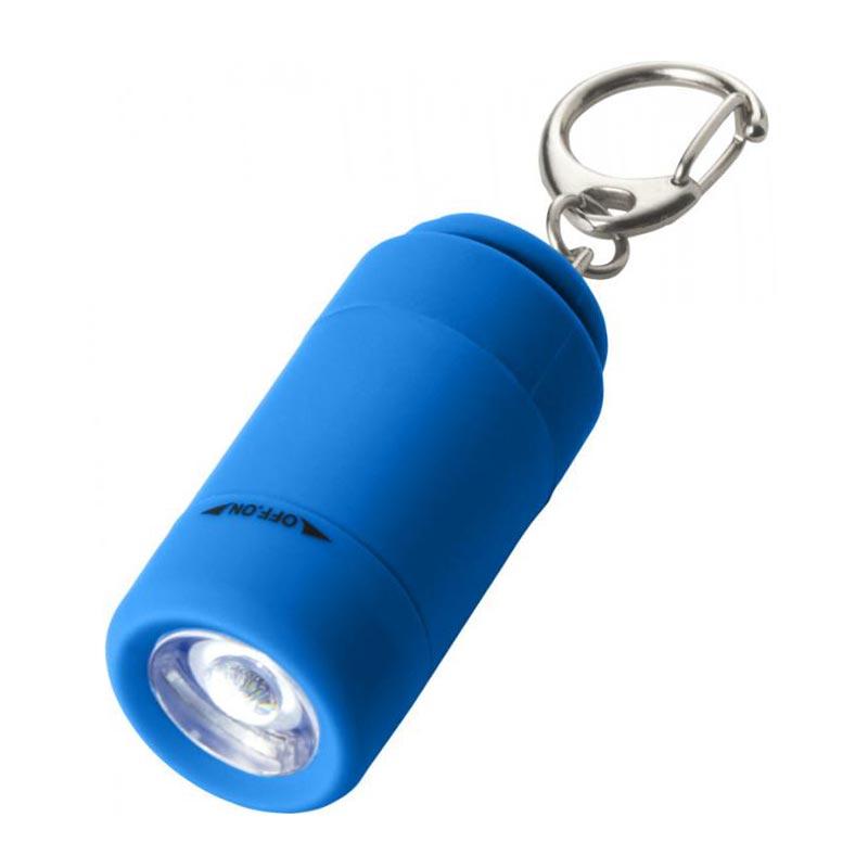 Mini lampe avec chargeur USB - bleu