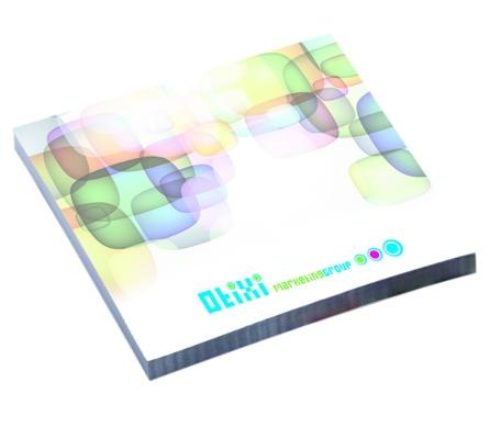 Bloc-notes publicitaire BIC® 68 x 75 mm 100 feuilles adhésives