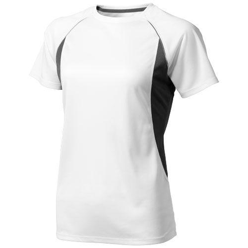Tee shirt manches courtes blanc et noir pour femme